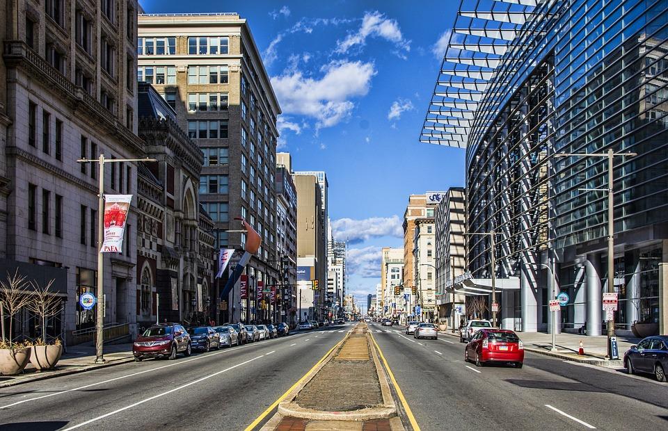 Broad Street in Philadelphia, PA